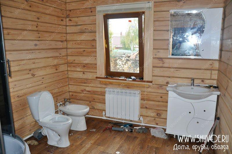 Душевые кабины в ванной в деревянном доме своими руками 159