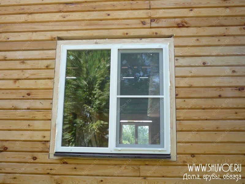 Как установить окна в брусовом доме своими руками 96