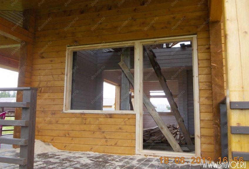 Окна в доме из бруса своими руками 358