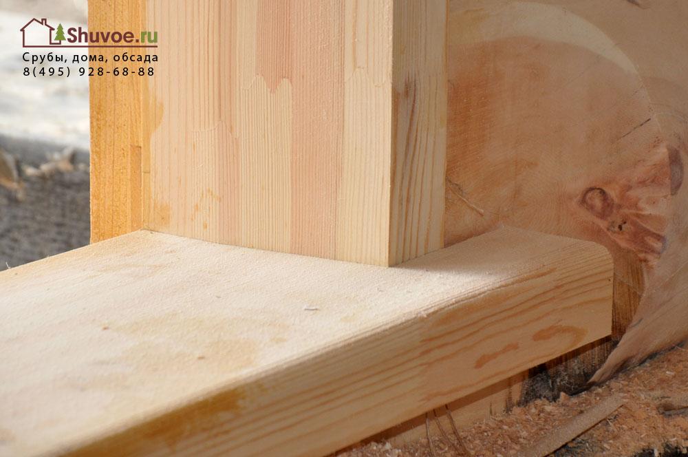 Изготовление обсады в деревянном доме своими руками 79