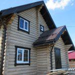 Окна в деревянный дом: сразу с чистовыми откосами