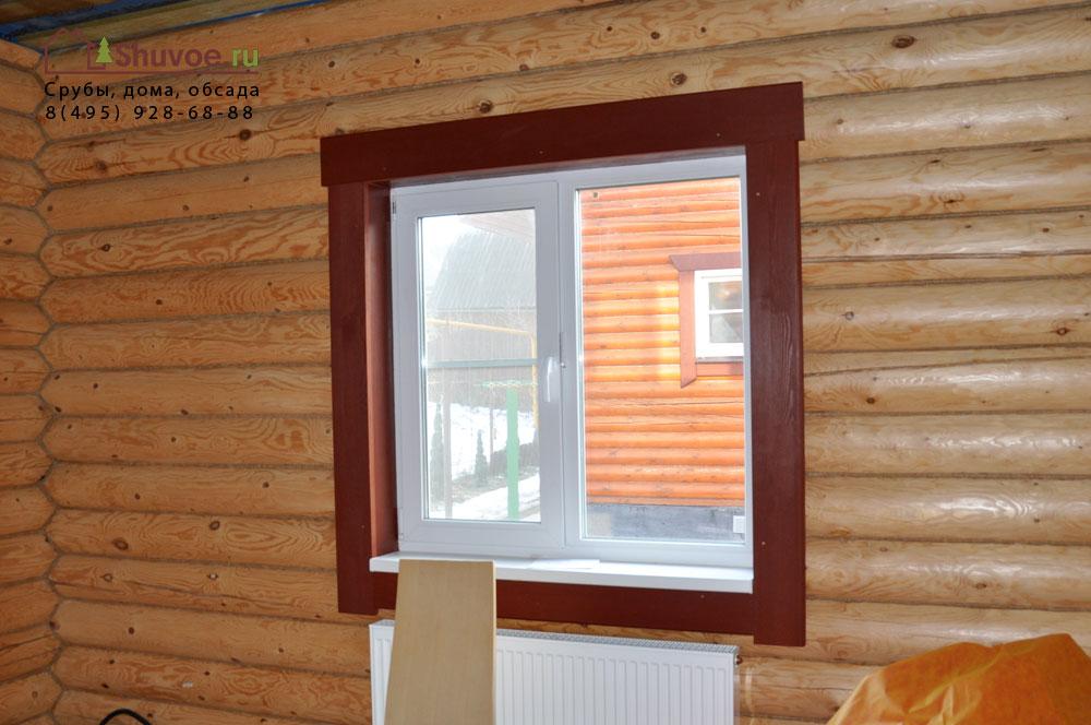 откосы на окна в деревянном доме фото брависсимо ресторан