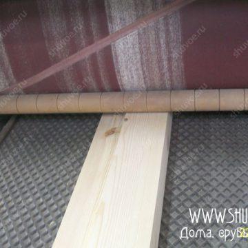 Beaver SR-P950 обеспечивает отличное качество шлифовки. На фото — процесс шлифовки части обсадной коробки.
