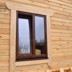 Деревянные наличники на окна и двери