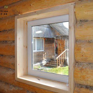Окно с чистовой обсадой не требует отделки откосов!