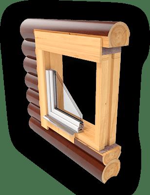 Как делается окосячка дверных проемов в деревянном доме